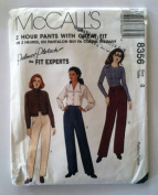 McCall's 2 Hour Pants with Great Fit Size 8