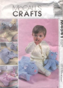 McCall's Crafts Baby Cuddle Mat and Toys Sewing Pattern M4541