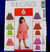McCall's Pattern #M4355 SIZE