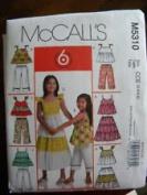 McCall's Pattern #M5310 SIZE