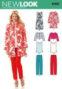 New Look Pattern #6162 SIZE