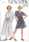 NEW LOOK Pattern #6556 SIZE