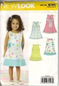 NEW LOOK Pattern #6795 SIZE