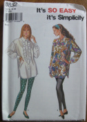 Simplcity It's So Easy Pattern 8832 Misses' Shirt and Leggings Size 8-18