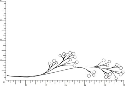 simple berry branch rubber stamp by drs designs shipping
