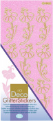 JEJE Produkt Decor Glitter Stickers, 10cm by 23cm , Pastels