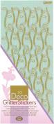 JEJE Produkt Decor Glitter Stickers, 10cm by 23cm , Pastel