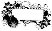 Art Decorative Season Greeting Scrapbook Gift Rubber Stamp