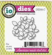 Impression Obsession io Steel Die # DIE066-C Leaf Cluster Die US American Made