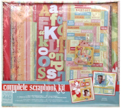 COLORBOK 30cm x 30cm Scrapbooking Kit - Sweet Magnolia