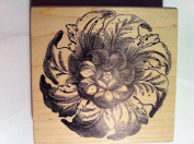 Beautiful Large Flower Rubber Stamp