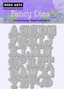 Hero Arts Alphabet Uppercase Fancy Die Cuts