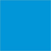 30cm x 10 ft Roll of Matte 631 Azure Blue Repositionable Adhesive-Backed Vinyl for Craft Cutters, Punches and Vinyl Sign Cutters . Vinyl Ease V1424