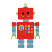 Wallies 13543 Peel and Stick Play Robot Room Décor Sticker