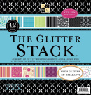 Die Cuts With A View All Occasion Glitter Paper Stack, 30cm by 30cm