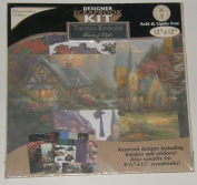 Thomas Kinkade 30cm x 30cm Designer Scrapbook Kit