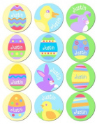Olive Kids Personalised Easter Stickers Boy Pack