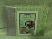 Brenda Walton Vine Stripe Scrapbook Kit