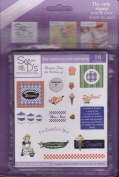 See D's Recipes 23 Rubber Stamps and Case # 50209 Inque Boutique Sugarloaf