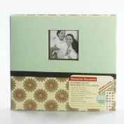 Paper Boutique Memories Souvenirs Scrapbook Kit 24cm X 22cm Posh Floral- English and French