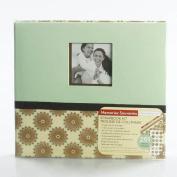 Paper Boutique Memories Souvenirs Scrapbook Kit 24cm X 22cm Posh Floral- English and French