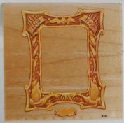 Harry Potter Wood Backed Rubber Stamp of HP Picture Frame