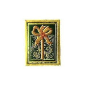 PRESENT Embossed Stickers; 60ct