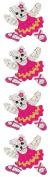 Jillson Roberts Prismatic Stickers, Ballerina Teddy, 12-Sheet Count