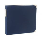12 X 12 D-ring - Cloth Album - Cobalt