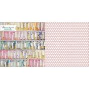 Colour & Composition Double-Sided Cardstock 30cm x 30cm -Chalk Prints 25 per pack
