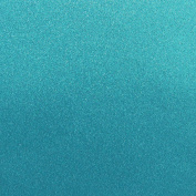 Best Creation 30cm by 30cm Glitter Cardstock, Ocean Blue
