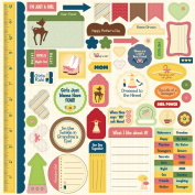 Nikki Sivils Scrapbooker Audrey, Punch-Outs or Die Cuts On 30cm by 30cm Cardstock