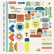 Nikki Sivils Scrapbooker Noah, Punch-Outs or Die Cuts On 30cm by 30cm Cardstock