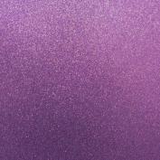 Best Creation 30cm by 30cm Glitter Cardstock, Purple