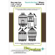 Die-Versions Whispers Beautiful Bird Cages Scrapbooking Die Cuts