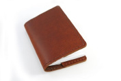 Pocket Leather Notebook, Protect Your Notes and Look Classy, Mini Composition Cover