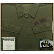 U.S. Army Vietnam Uniform Keepsake Album 30cm x 30cm -Olive