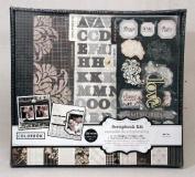 Colorbok Modern Chic 30cm x 30cm Scrapbook Kit