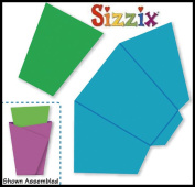 Sizzix Originals Cuts-n-Folds Wildcard & Envelope, Bitty Pocket Card 38-1151