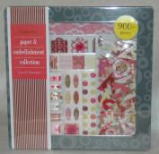 Memory Stor Paper Embellishment Set Love Romance
