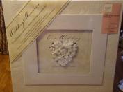 Furio 30cm x 30cm Wedding Memories Scrapbook Kit - Refillable album, pages, protectors, embelishments