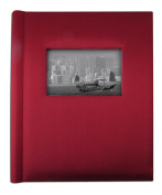 Creat-a-memory Record and Play Family Memory Photo Album; Burgundy