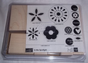 Stampin Up In The Spotlight Set of 12 Rubber Stamps