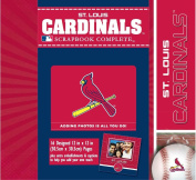 CR Gibson Tapestry Complete Scrapbook Kit, St. Louis Cardinals