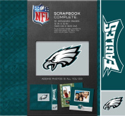 CR Gibson Tapestry Complete Scrapbook Kit, Philadelphia Eagles