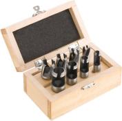 Steelex D2022 Deluxe Plug Cutting Set, 8-Piece