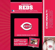 CR Gibson Tapestry Complete Scrapbook Kit, Cincinnati Reds