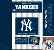 CR Gibson Tapestry Complete Scrapbook Kit, New York Yankees