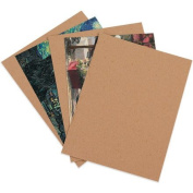 Aviditi CP57 Chipboard Pad, 0.022 Point Fibreboard, 18cm Length x 13cm Width, Kraft