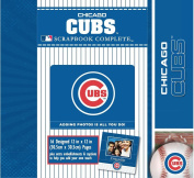 CR Gibson Tapestry Complete Scrapbook Kit, Chicago Cubs